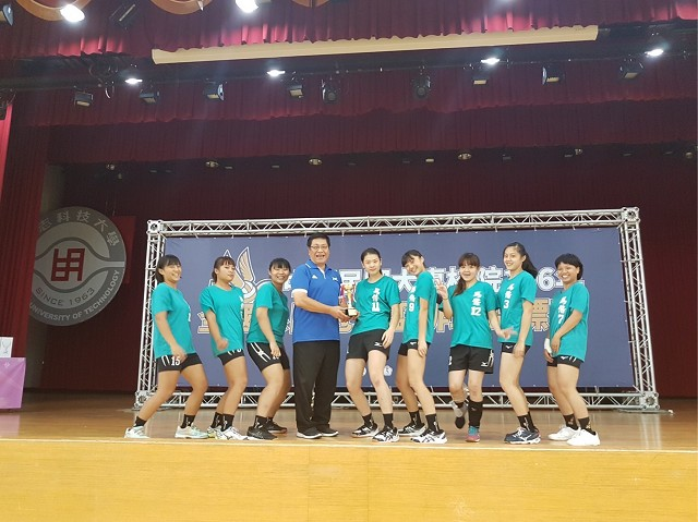 恭賀~本校排球隊榮獲106年度全國系際冠軍杯第五名