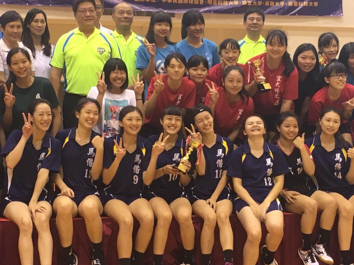 賀!恭喜本校排球隊參加「中華民國大專校院107年全國系際盃排球錦標賽」榮獲女子組第五名